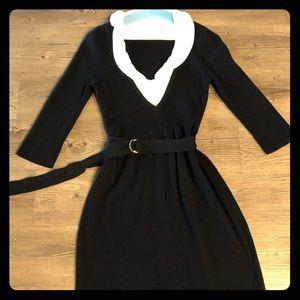 Super cute White House Black Market sweater dress!